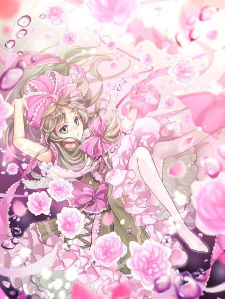 鍵山雛と花-25