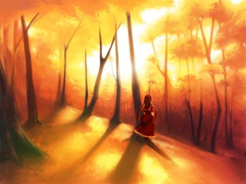 鍵山雛と森-17