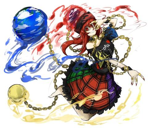 ヘカーティアと地球儀-23