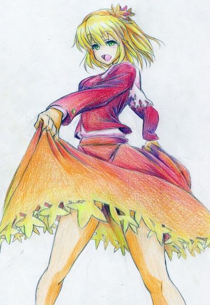 秋静葉スカート-19