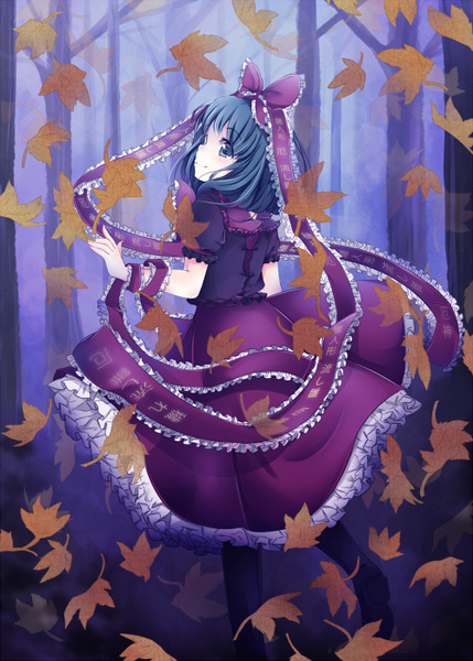 鍵山雛と森-14
