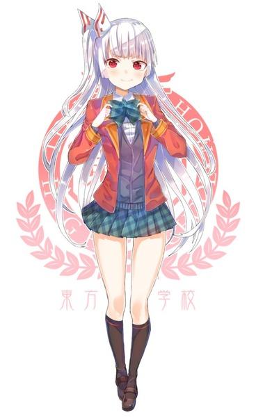 藤原妹紅スカート-35