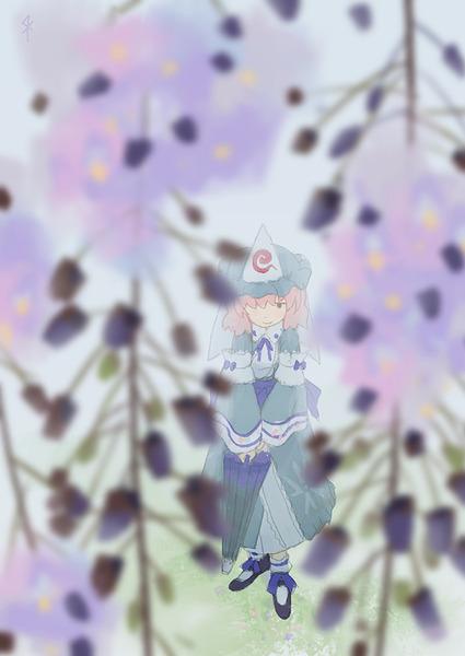 西行寺幽々子と和傘-13