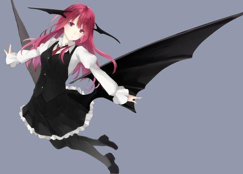 小悪魔と黒タイツ-16