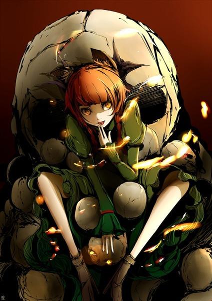 火焔猫燐と髑髏-43