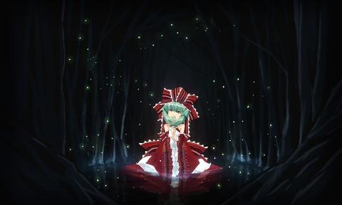 鍵山雛と森-28