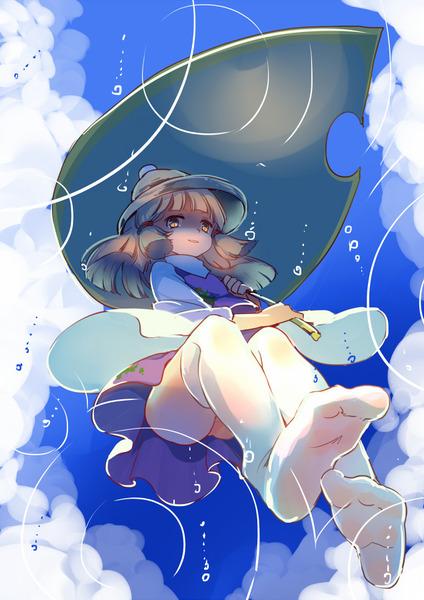 洩矢諏訪子と葉っぱ傘-3