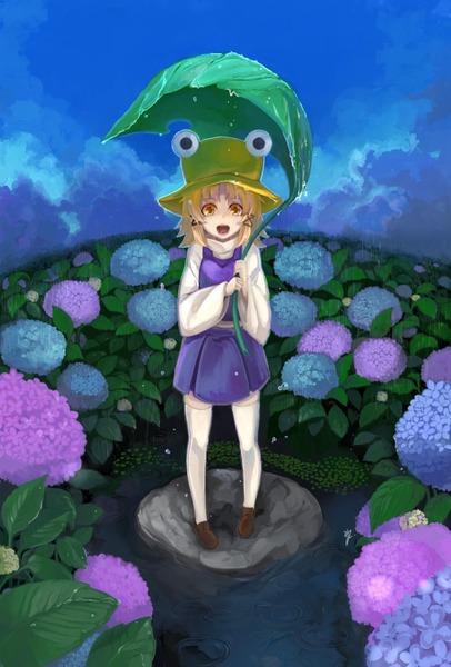 洩矢諏訪子と葉っぱ傘-31
