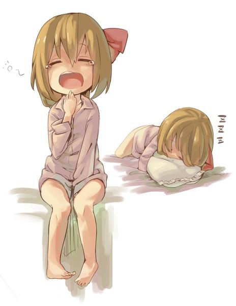 寝ルーミア-45