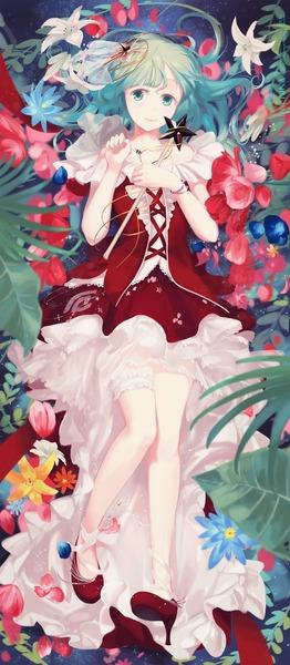鍵山雛と花-37