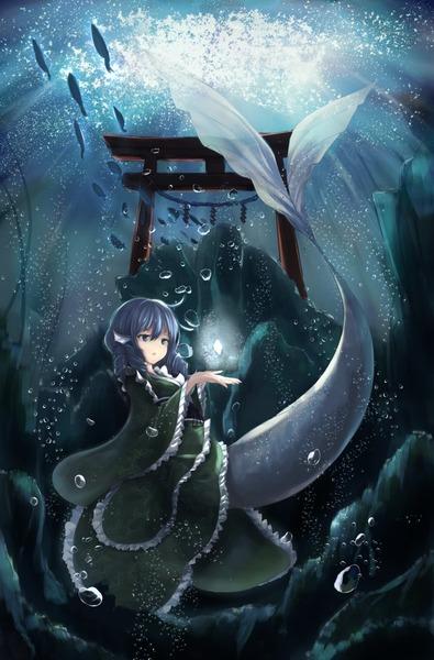 わかさぎ姫と魚-47