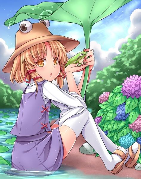 洩矢諏訪子と葉っぱ傘-20