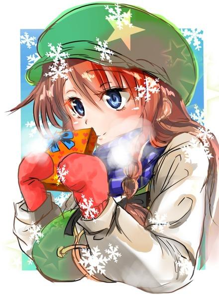 紅美鈴冬服-17