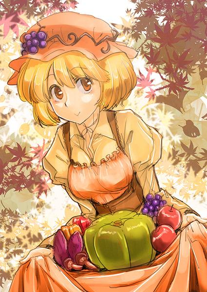 秋穣子と食べ物-26