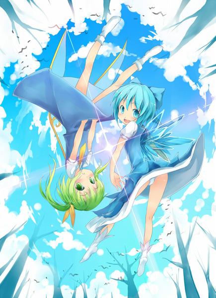大妖精と青