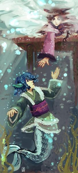 わかさぎ姫と魚-38