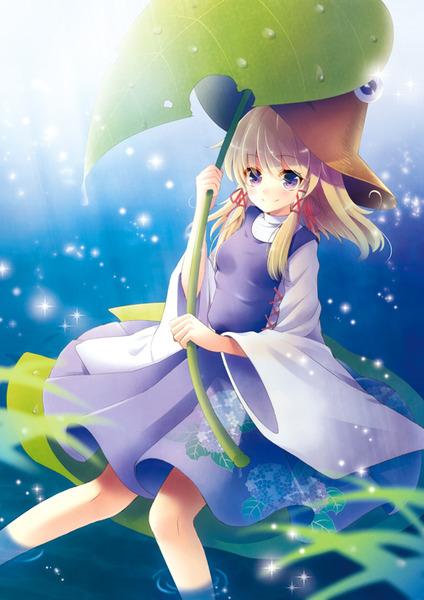洩矢諏訪子と葉っぱ傘-32