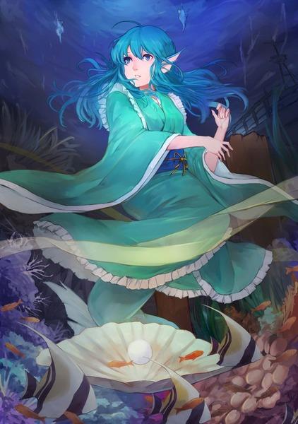 わかさぎ姫と魚-48