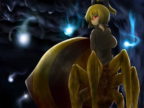 黒谷ヤマメ蜘蛛-48