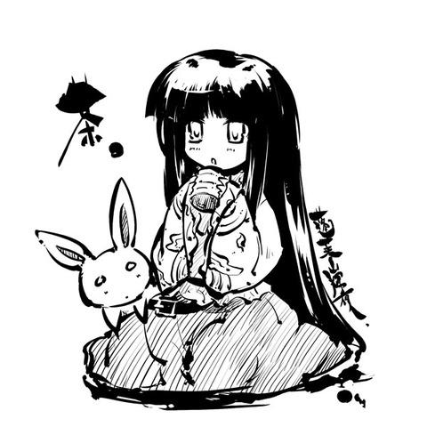 輝夜とウサギ-31