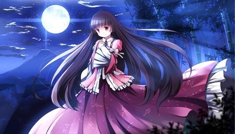 輝夜と満月の竹林-34