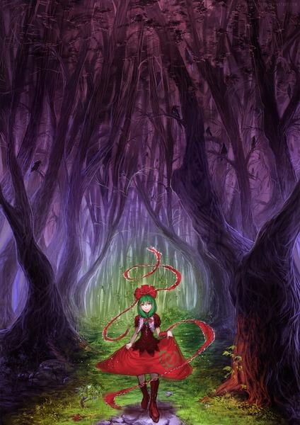 鍵山雛と森-06