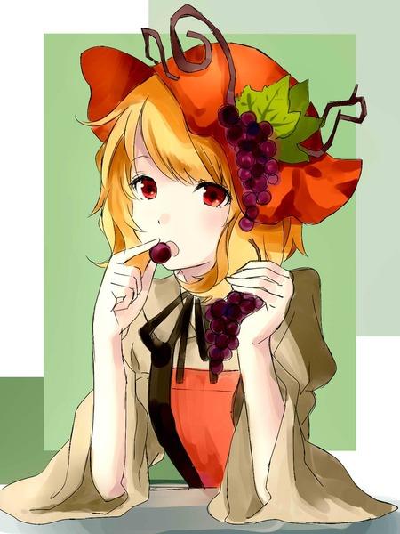 秋穣子と食べ物-02