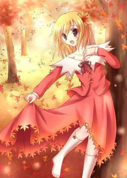 秋静葉スカート-20