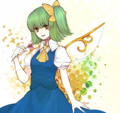 大妖精と花-31