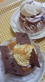 塩キャラメルケーキ&モンブラン