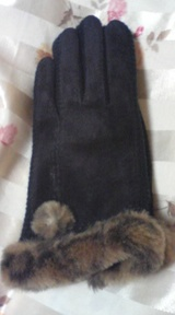 pinkygirls 黒手袋