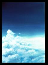 チュートリアルアナログ背景 雲-レタッチ