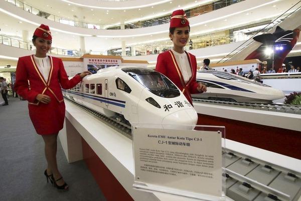 インドネシア「中国に発注した高速鉄道、全然進捗してないの!! 助けて日本!!!!」のサムネイル画像