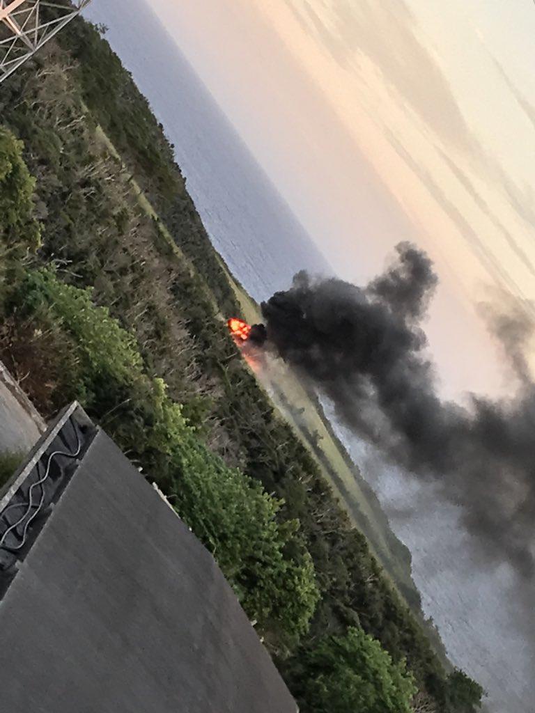 【速報】沖縄で米軍ヘリ墜落 のサムネイル画像