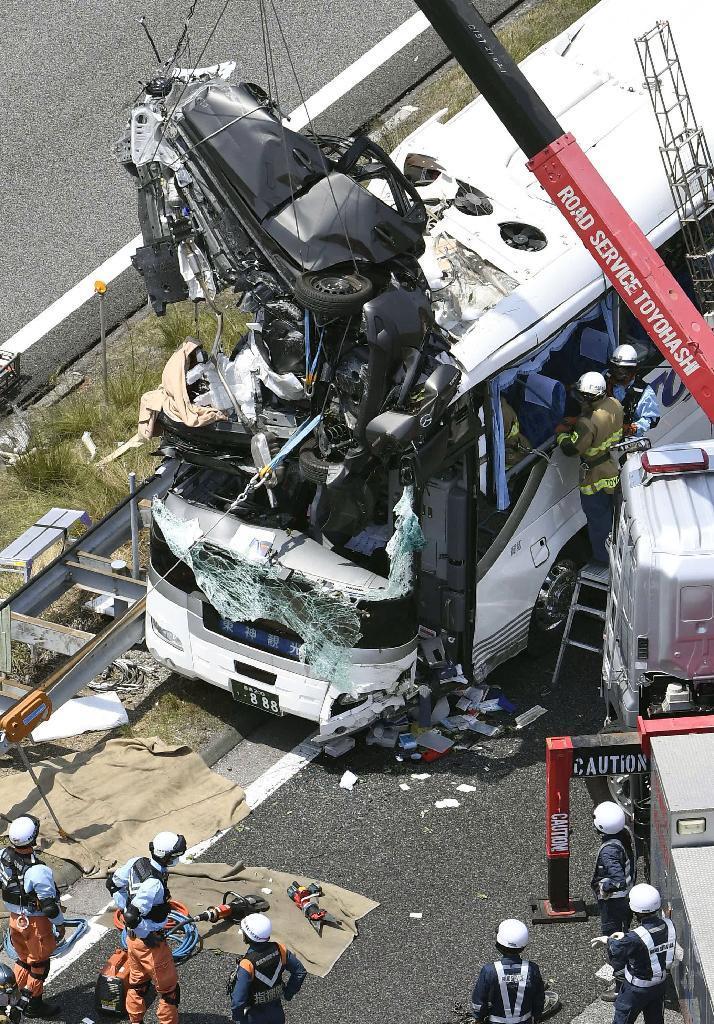 【動画】 東名バス事故、乗用車運転手死亡へ・・・のサムネイル画像