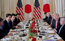 【日米首脳会談】トランプ大統領「巨額の対日赤字、均等にしたい」 のサムネイル画像