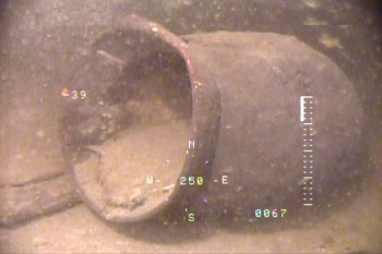 【驚愕】琵琶湖の底「古代ロマン」奈良時代のものとみられる完全な形の土器発見wwwwwwwwwのサムネイル画像