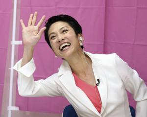 【開戦】絶好調の民進党、蓮舫代表「幕引きでなく幕が開けた」のサムネイル画像
