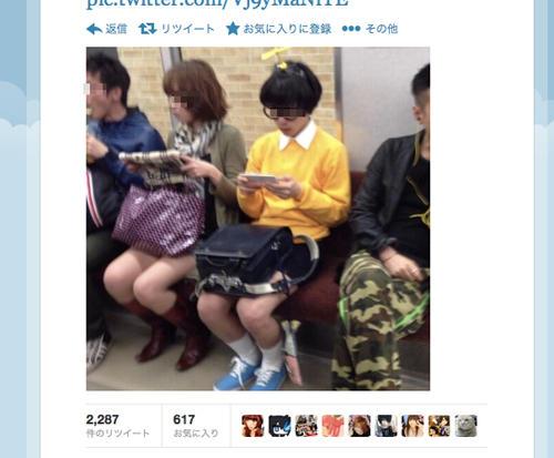 【画像あり】 日本の電車が フリーダム すぎると 海外で話題に wwwwwwwwwwwwwwwwのサムネイル画像