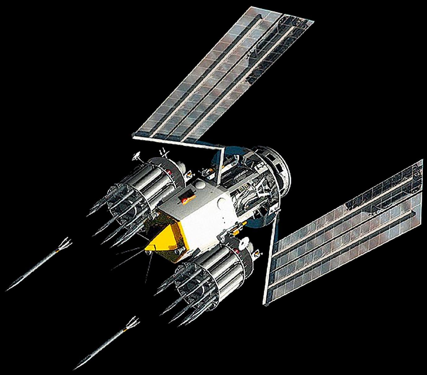 【画像】宇宙空間から鋼鉄の槍を投下! 米国がとんでもない威力の兵器を開発wwwwwwwwwwwwのサムネイル画像