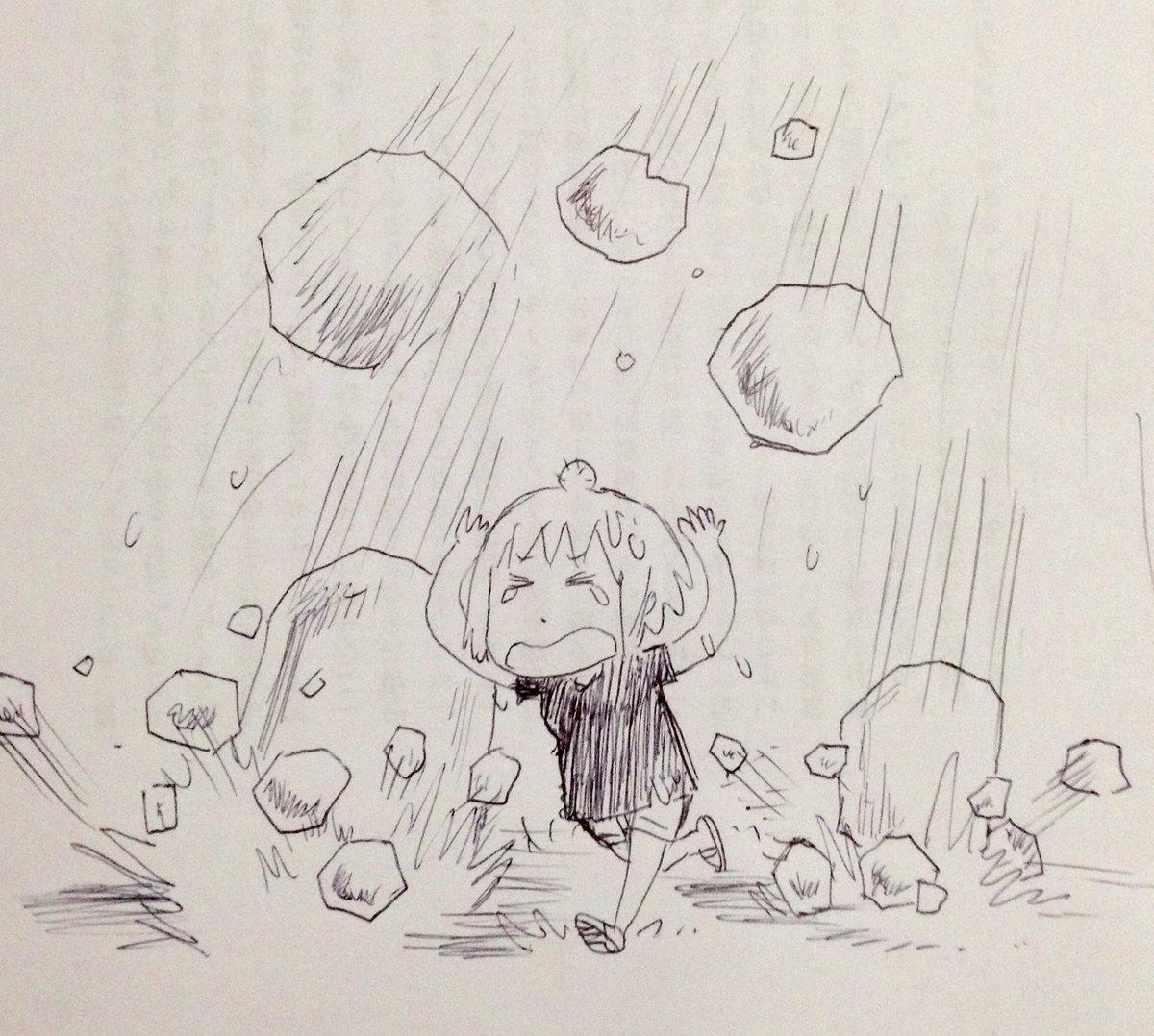 【動画】東京にやばいレベルの雹が降ってきて大騒ぎにwwwwwwwwwwのサムネイル画像