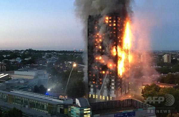 【衝撃】マンション火災で、10階のベランダから飛び降りた男性の末路・・・のサムネイル画像