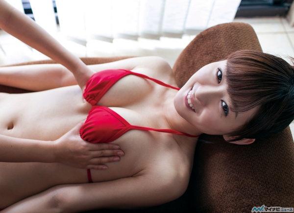 【画像】「いっぱい汚れてんね~」92cmのFカップ中村葵が京都弁で年下男性を優しくリードのサムネイル画像