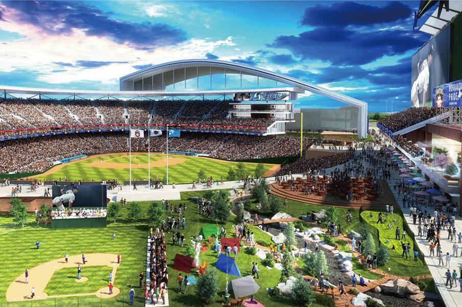 札幌市に激震、日本ハムの新スタジアム「入場料無し」「弁当無し」のサムネイル画像