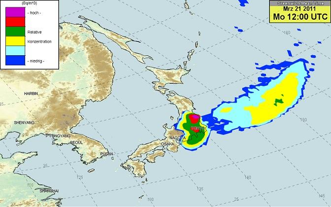 東京の地面の放射線量がすごいらしいのサムネイル画像