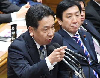 【衝撃】立憲民主党・枝野さん、内閣不信任決議案提出かwwwwwwwwwのサムネイル画像