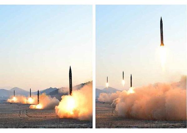 【悲報】北朝鮮の弾道ミサイル、30分で800km飛行 → 高高度を飛翔するロフテッド軌道の可能性・・・のサムネイル画像