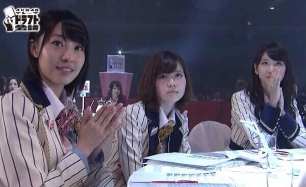 【画像】AKB48ドラフト会議、ぱるること島崎遥香、全くやる気なし…退屈さ全開 2ch「かわいいから許す!!!」のサムネイル画像