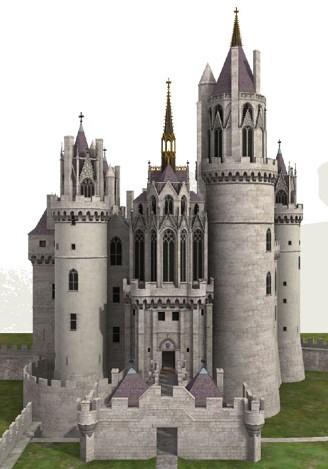 中世ヨーロッパ城郭スレ。今日の我々が抱く城のイメージは大体14~15世紀のヨーロッパの城のサムネイル画像