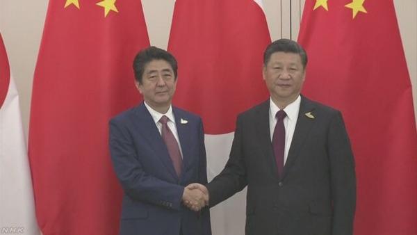 【悲報】安倍晋三首相「中国の一帯一路に協力します!!!」のサムネイル画像